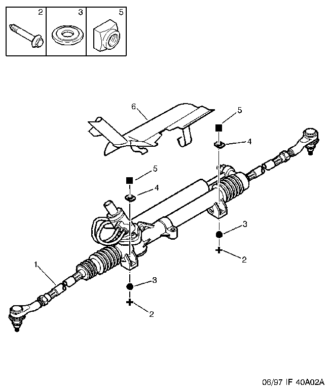 steering rack loose